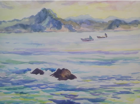 水彩画家・長尾周二161218