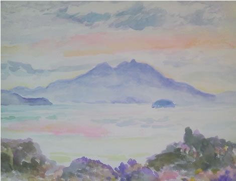 水彩画家・長尾周二160125