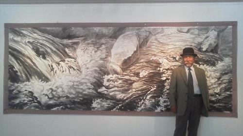 水彩画家・長尾周二1506173