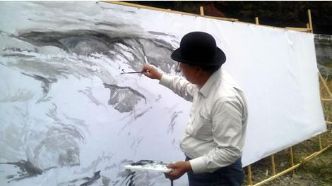 水彩画家・長尾周二1611202