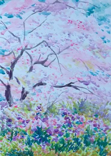 水彩画家・長尾周二2004081