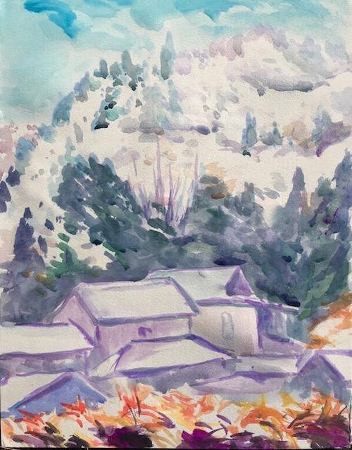 水彩画家・長尾周二1812202