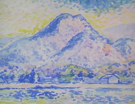 水彩画家・長尾周二170130
