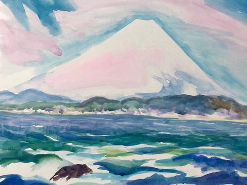 水彩画家・長尾周二1903092