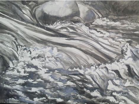水彩画家・長尾周二1611161