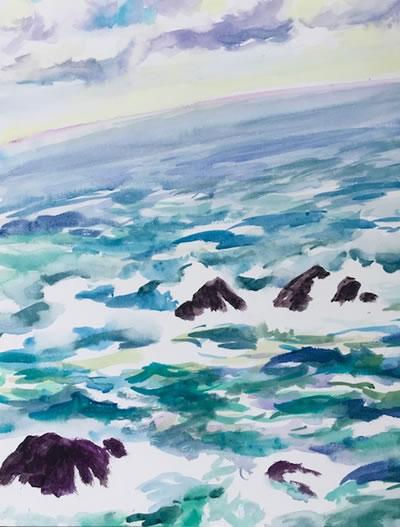 水彩画家・長尾周二1811031