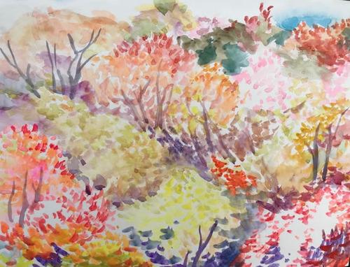 水彩画家・長尾周二1904072