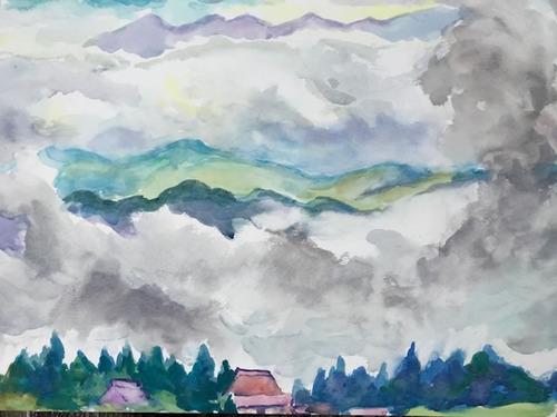 水彩画家・長尾1周二1910172