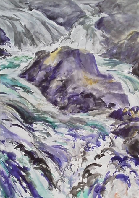 水彩画家・長尾周二131129