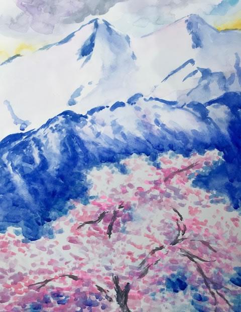 水彩画家・長尾周二1804191