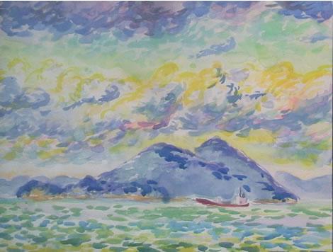 水彩画家・長尾周二1702192
