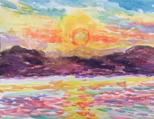 水彩画家・長尾周二1901151