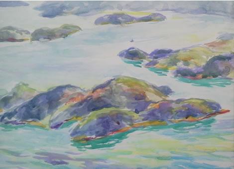 水彩画家・長尾周二161214