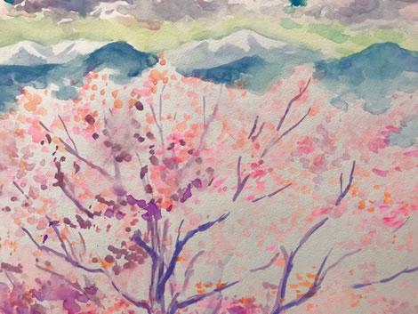 水彩画家・長尾周二1803232
