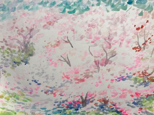 水彩画家・長尾周二1803312