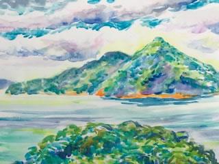 水彩画家・長尾周二1806192