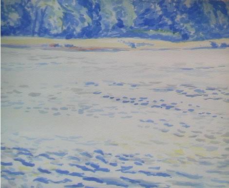 水彩画家・長尾周二160829