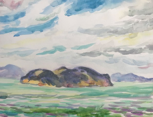 水彩画家・長尾周二1901121