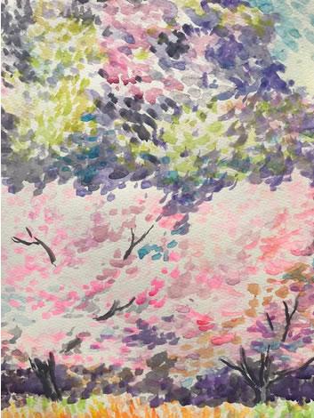 水彩画家・長尾周二180405