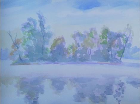 水彩画家・長尾周二1707021