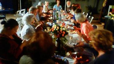 フランソワーズ・イカールさんシルバーメタル授章記念食事会