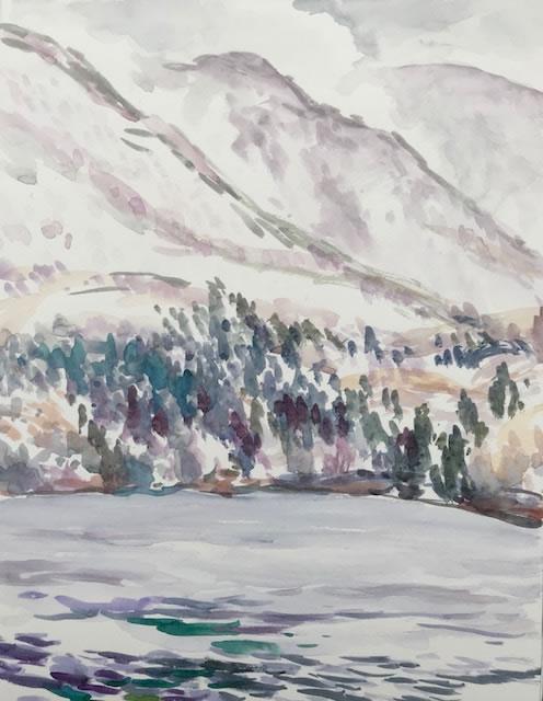 水彩画家・長尾周二1812212