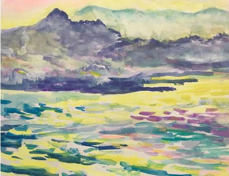 水彩画家・長尾周二180303