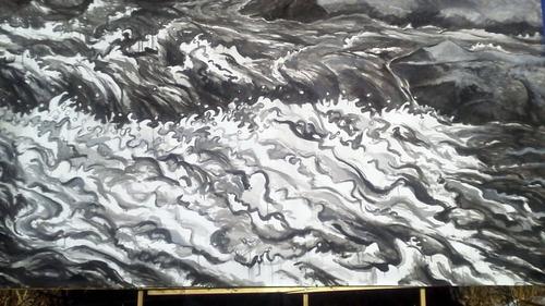 水彩画家・長尾周二170103