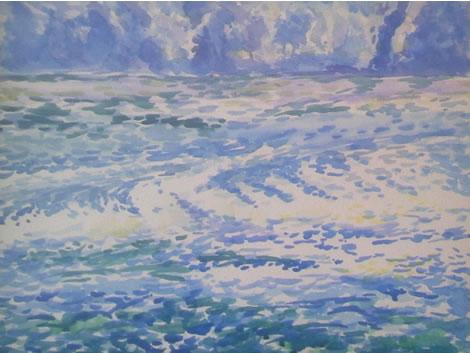 水彩画家・長尾周二161004