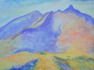 水彩画家・長尾周二・妙高山の風景写真
