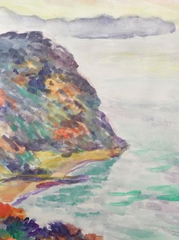 水彩画家・長尾周二1912271