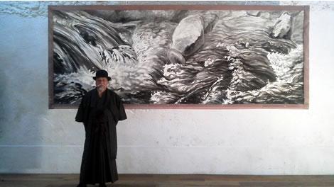 水彩画家・長尾周二160610