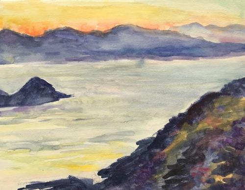水彩画家・長尾周二1811151