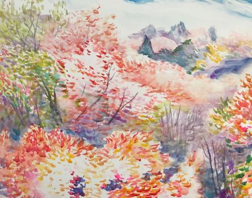 水彩画家・長尾周二1904051