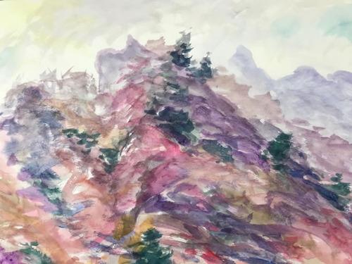 水彩画家・長尾周二2001181