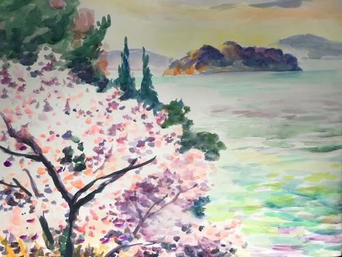 水彩画家・長尾周二1902113
