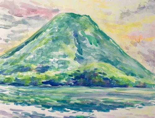 水彩画家・長尾周二1805261
