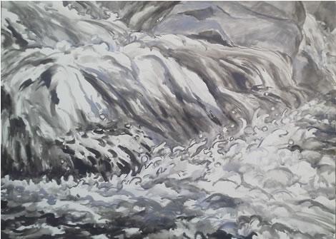 水彩画家・長尾周二161118