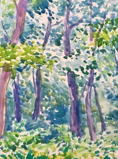 水彩画家・長尾1周二1910121