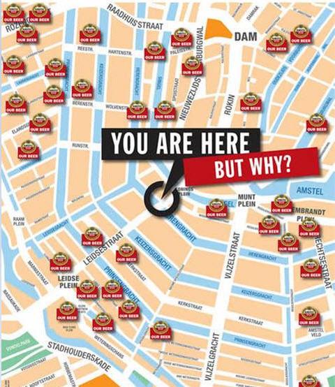 ビール 地図