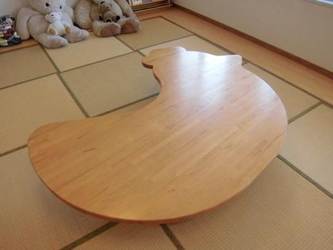 055-にわとりテーブル01