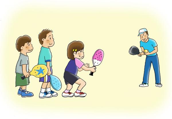 p4パドルテニス教室