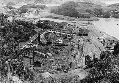 大島鉱業所二坑
