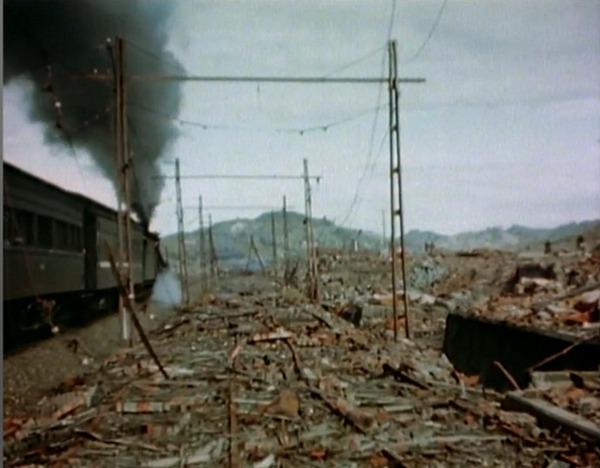 Nagasaki-Honsen_Restoration_from_atomic_bomb