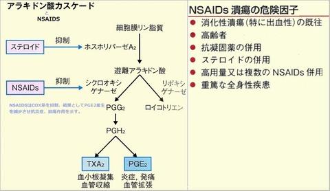 NSAIDS潰瘍危険因子
