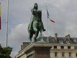 オルレアンジャンヌダルク像