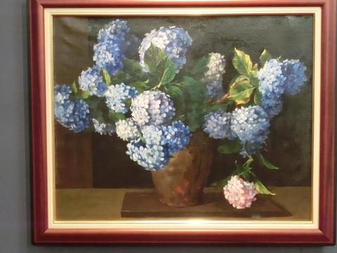 日本画家・柳樂晃里190602加納美術館9
