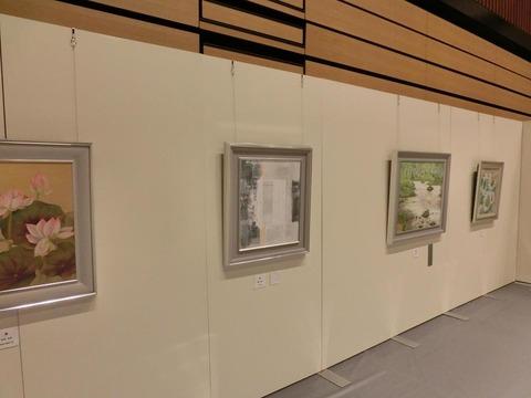 日本画家・柳樂晃里・第13回安来市美術展A4
