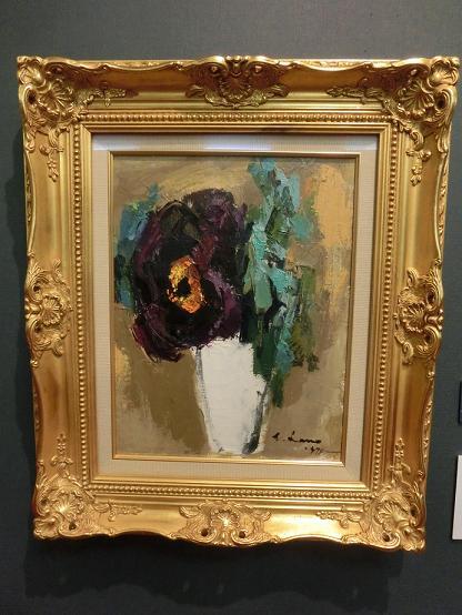 日本画家・柳樂晃里190602加納美術館3