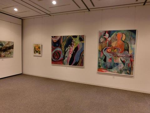 日本画家・柳樂晃里・第13回安来市美術展A6